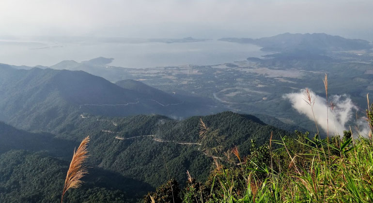 DaNang to Bach Ma National Park by car